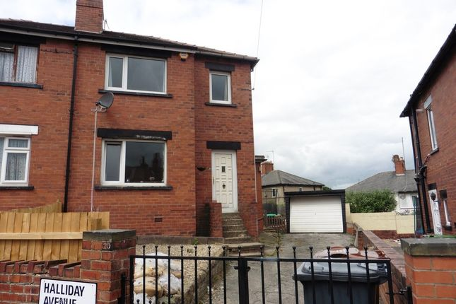 Thumbnail Semi-detached house for sale in Halliday Avenue, Armley, Leeds