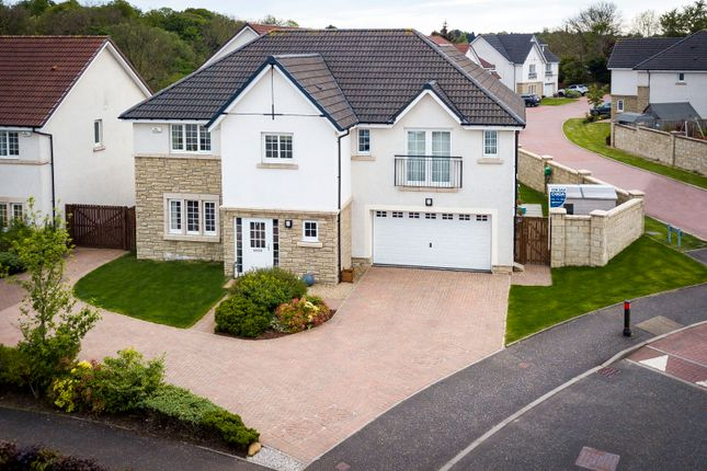 Thumbnail Detached house for sale in Woodcroft Drive, Lenzie, Glasgow