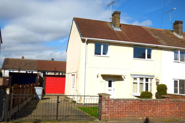 Thumbnail Semi-detached house for sale in Oxford Close, Rainworth, Mansfield
