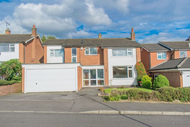 Thumbnail Detached house for sale in Windrush Drive, Oadby, Leicester