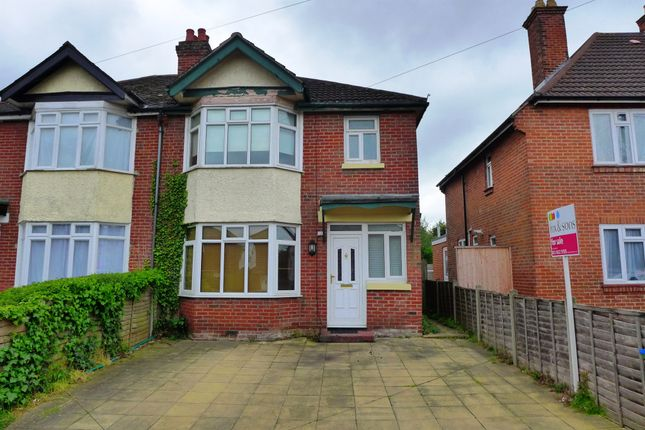 3 bed semi-detached house for sale in Harrison Road, Swaythling, Southampton