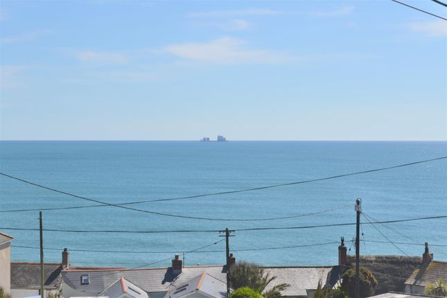 Sea View of Peverell Terrace, Porthleven, Helston TR13