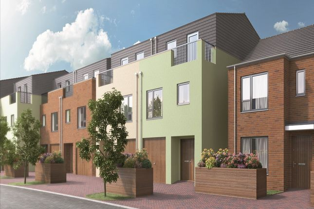 Thumbnail Terraced house for sale in The Seymour, Ledgers Road, Slough