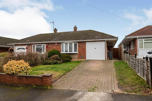 Thumbnail Semi-detached bungalow for sale in Shakespeare Gardens, Cowplain, Waterlooville