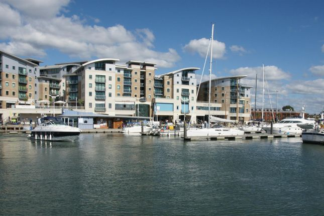 Thumbnail Flat for sale in Dolphin Quays, The Quay, Poole