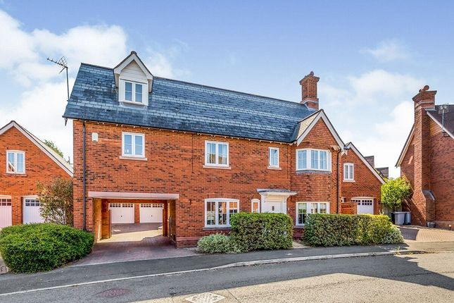 Detached house for sale in Redbourne Drive, Wychwood Park, Crewe