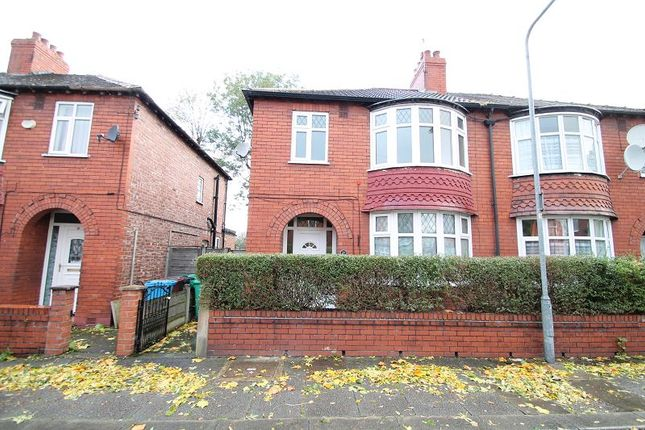 Thumbnail Semi-detached house to rent in Lincoln Avenue, Levenshulme, Manchester