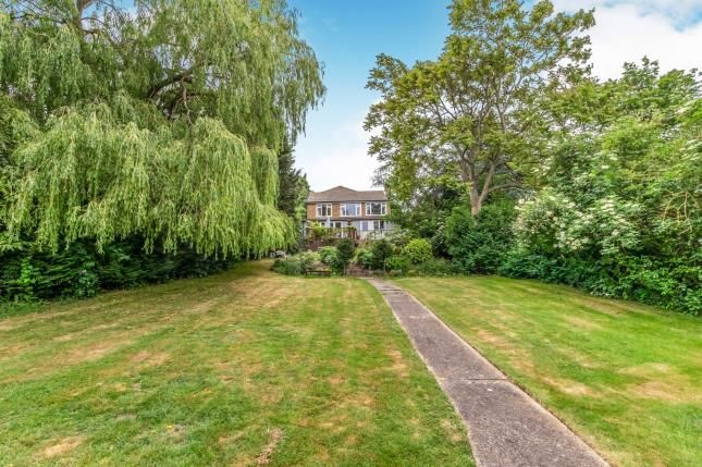 Garden of Hill Court, Chattenden, Rochester, Kent ME3