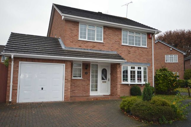 Thumbnail Detached house for sale in Langfield Grove, Bromborough, Wirral
