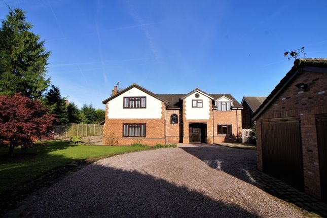 Thumbnail Detached house to rent in Main Road, Goostrey, Cheshire.