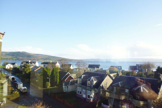 View From Lounge of Flat 3/2, 17, Wyndham Road, Ardbeg, Rothesay, Isle Of Bute PA20