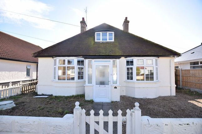 Thumbnail Detached bungalow for sale in Madeira Road, Holland-On-Sea, Clacton-On-Sea