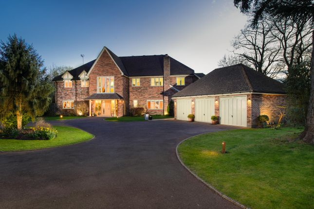 Thumbnail Detached house for sale in Old Warwick Road, Lapworth, Solihull, Warwickshire