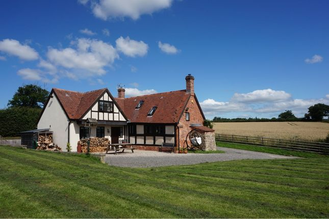Thumbnail Detached house for sale in Cound Moor, Shrewsbury