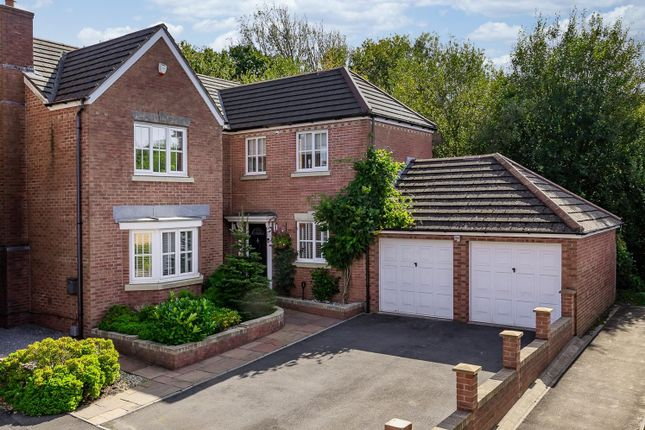 Thumbnail Detached house for sale in Crystal Wood Drive, Miskin, Pontyclun