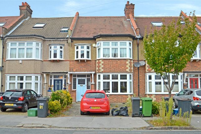 Thumbnail Terraced house for sale in Shirley Park Road, Croydon