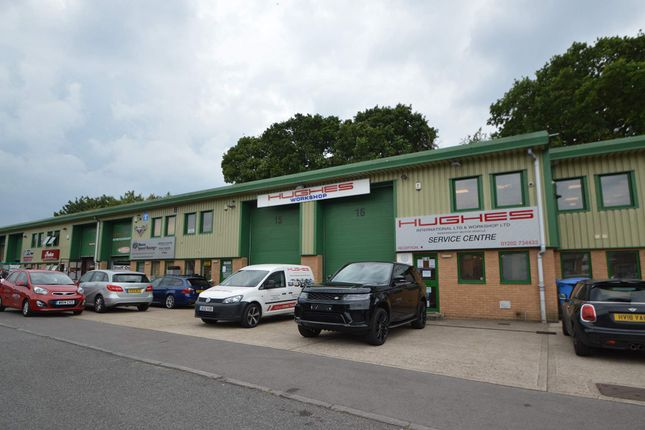 Thumbnail Warehouse to let in Cortry Close, Poole