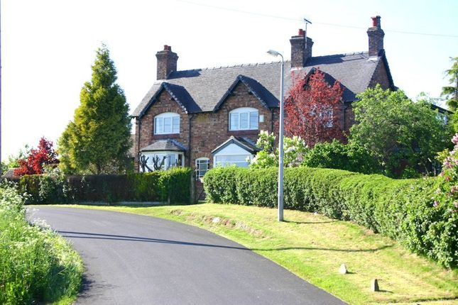 Thumbnail Detached house for sale in Nursery Road, Oakhanger, Crewe