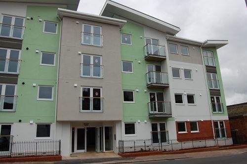 Thumbnail Flat to rent in Wheaton House, Red Lion Lane Exeter, Devon