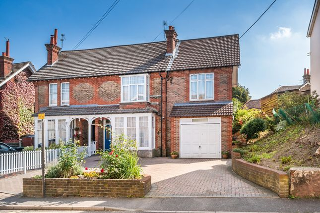 Thumbnail Semi-detached house for sale in Mill Road, Burgess Hill