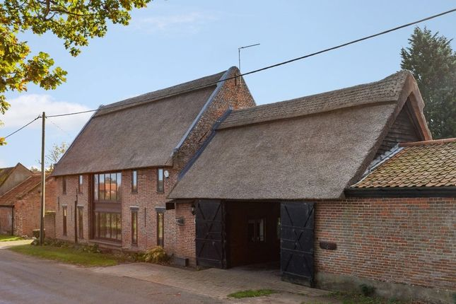 Thumbnail Barn conversion for sale in School Road, South Walsham, Norwich