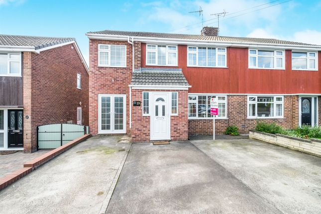 Thumbnail Semi-detached house for sale in Hoades Avenue, Woodsetts, Worksop