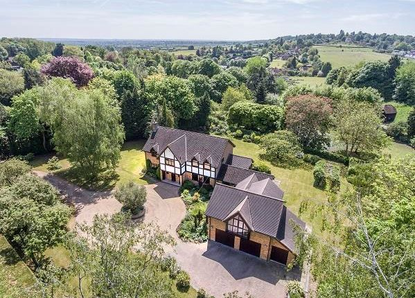 Thumbnail Detached house for sale in Alleyns Lane, Cookham Dean