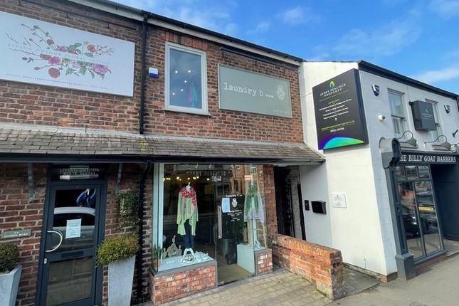 Retail premises to let in 112 London Road, Stockton Heath, Warrington, Cheshire