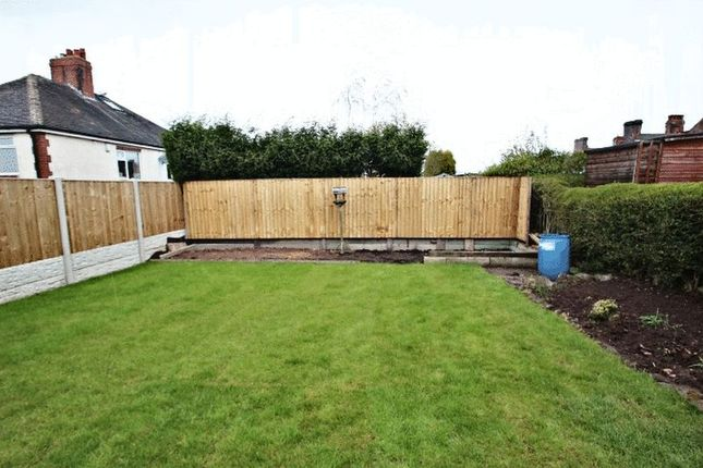 Rear Garden of Stoneleigh Road, Stoke-On-Trent ST6
