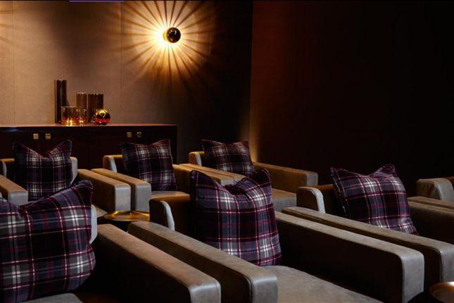 Screening Room of Milton Court, London EC2Y