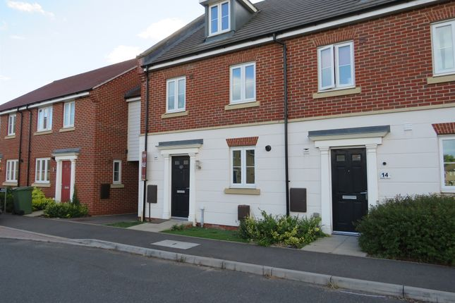 Thumbnail End terrace house for sale in Bristol Road, New Costessey, Norwich