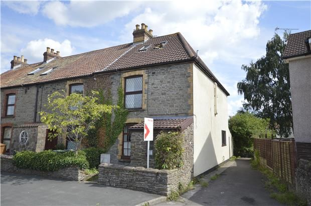 Thumbnail End terrace house for sale in Watleys End Road, Winterbourne, Bristol
