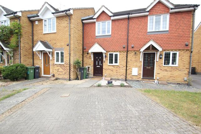 Thumbnail Terraced house to rent in Fennscombe Court, West End, Woking