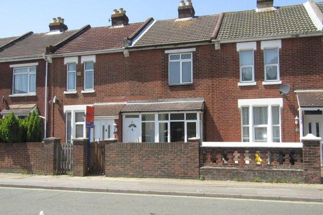 Thumbnail Terraced house to rent in Gordon Road, Gosport