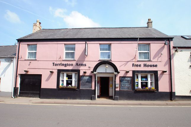 Thumbnail Pub/bar for sale in New Street, Torrington