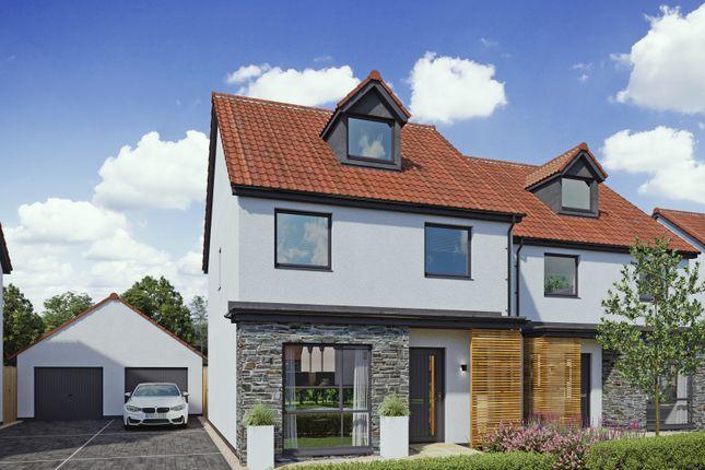 Thumbnail Detached house for sale in Bishops Road, Claverham, Bristol
