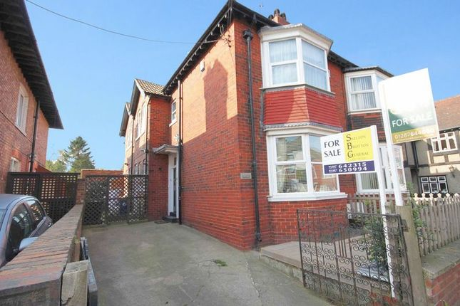 Thumbnail Semi-detached house for sale in West Road, Loftus, Saltburn-By-The-Sea
