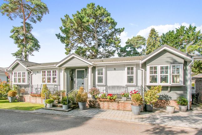 Thumbnail Mobile/park home for sale in Mulberry Close, West Parley, Ferndown