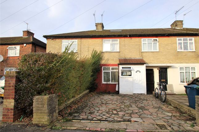3 bed terraced house for sale in Wigton Gardens, Stanmore, Middlesex