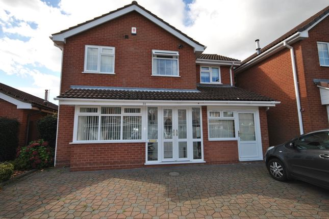 Thumbnail Detached house to rent in Newey Road, Hall Green, Birmingham