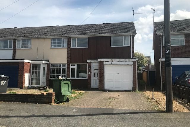 Thumbnail Terraced house to rent in Witham Way, Peterborough