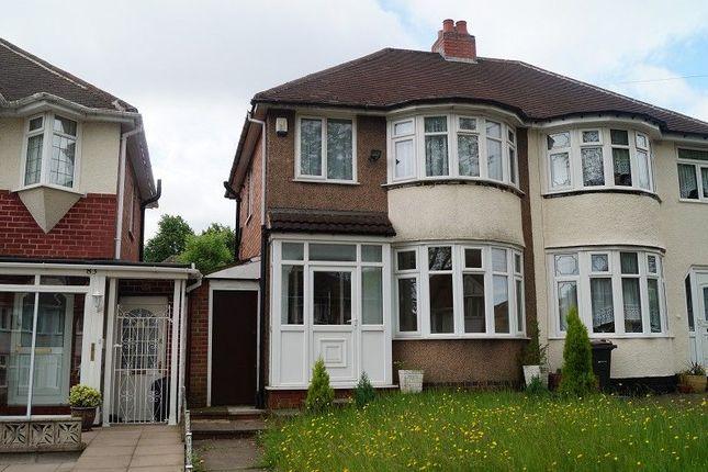 3 bed semi-detached house to rent in Corisande Road, Birmingham, West Midlands.