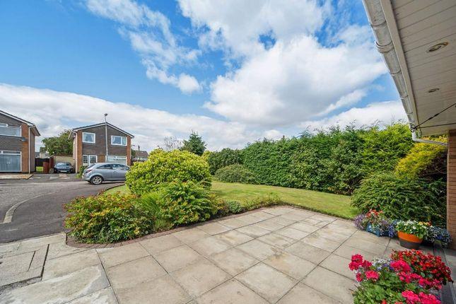 Front Garden of David Place, Garrowhill G69