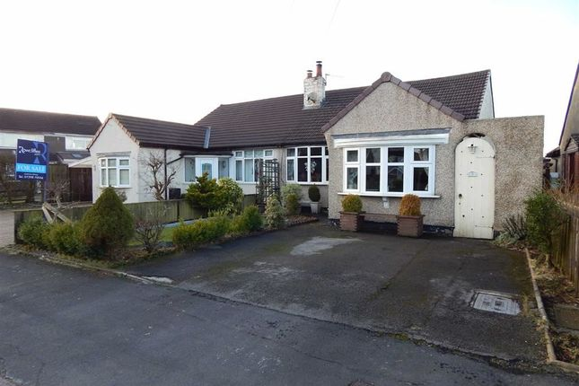 Thumbnail Semi-detached bungalow for sale in Central Drive, Buxton, Derbyshire