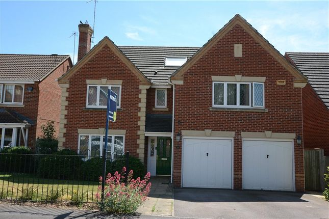 Thumbnail Detached house for sale in Arbery Way, Arborfield, Reading
