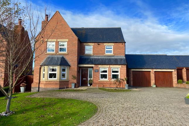 Thumbnail Detached house for sale in Orton Fields, Bramcote, Nottingham