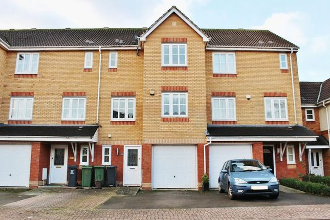 Thumbnail Terraced house for sale in Ffordd Daniel Lewis, St Mellons, Cardiff