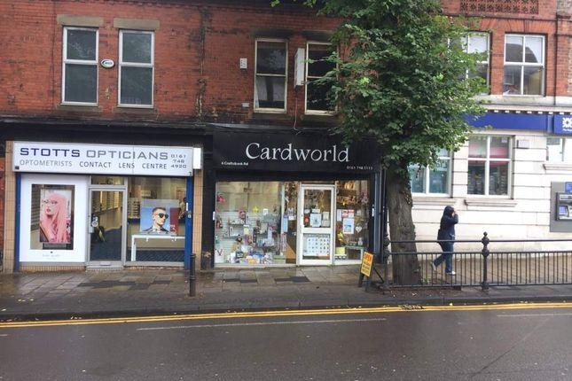Thumbnail Retail premises for sale in Arrandale Court, Crofts Bank Road, Urmston, Manchester