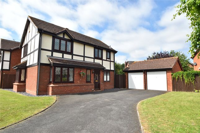 Thumbnail Detached house for sale in Elgar Crescent, Droitwich, Worcestershire