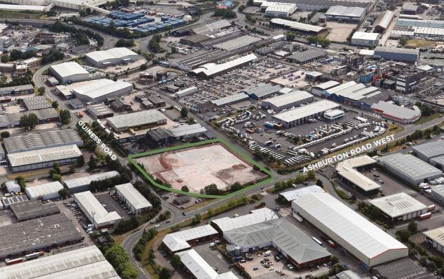 Thumbnail Land to let in Guinness Point, Trafford Park, Manchester
